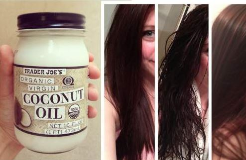 Coconut oil or olive oil treatment