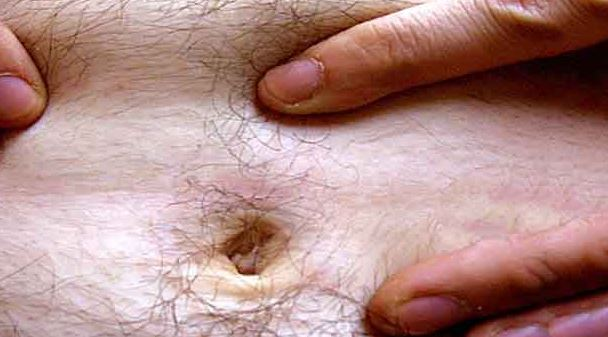 Belly button gunk may smell bad